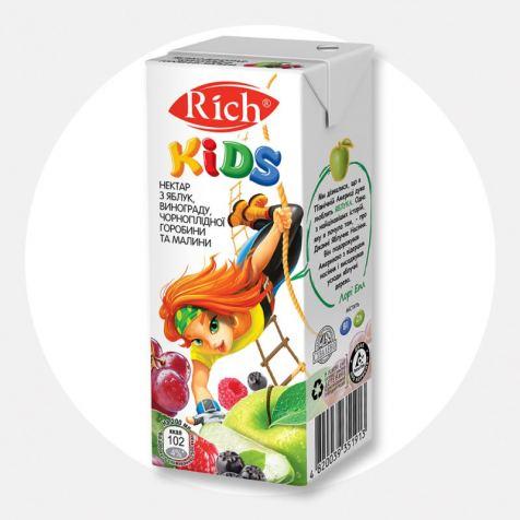 Напій Сік Rich kids 0.2