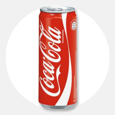 Напій Coca-Cola 0.33 л. ж/б